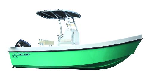TAHITI web 177 surf skiff boat